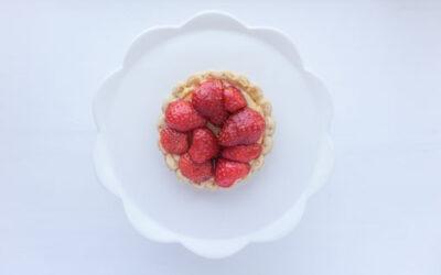Verwen jezelf met deze heerlijke aardbeienvlaaitjes