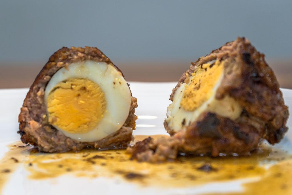 recept vogelnestje of Scottish egg