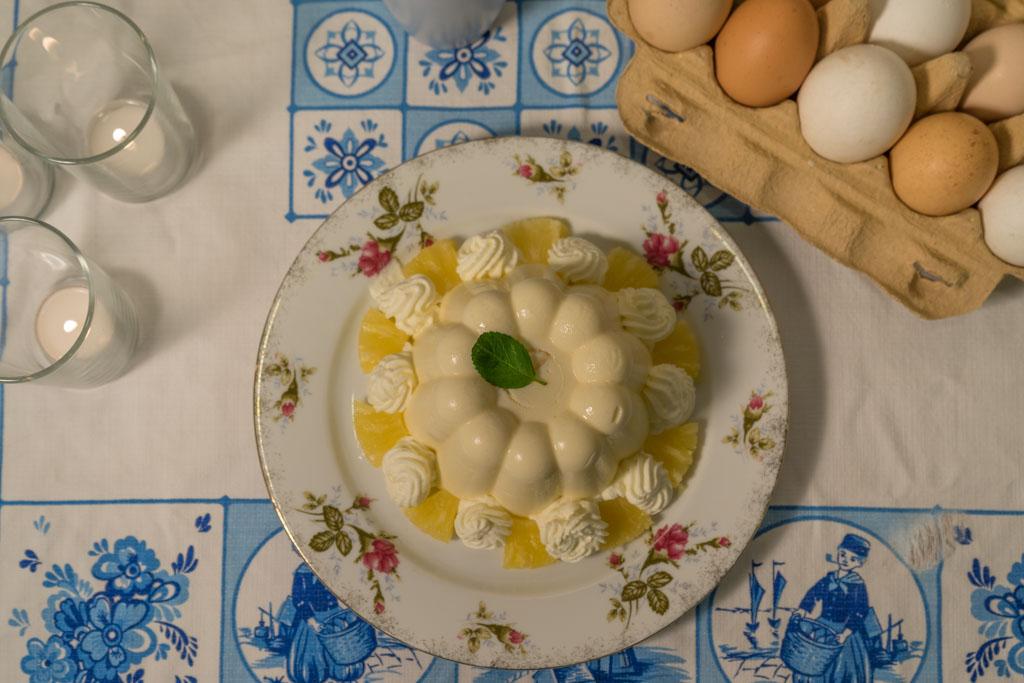 recept ananasbavarois