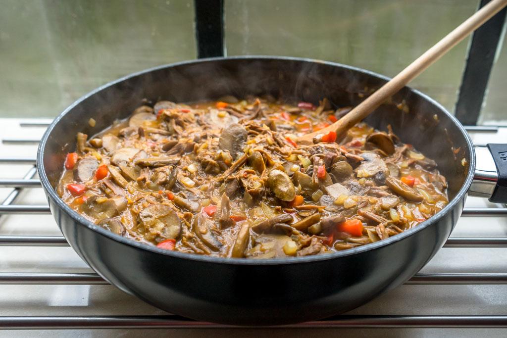 recept lekkere vleesschotel varken