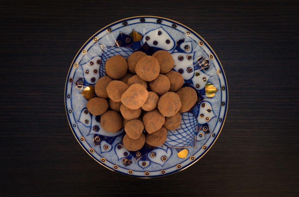 Zelfgemaakte chocoladetruffels, de ultieme verwennerij