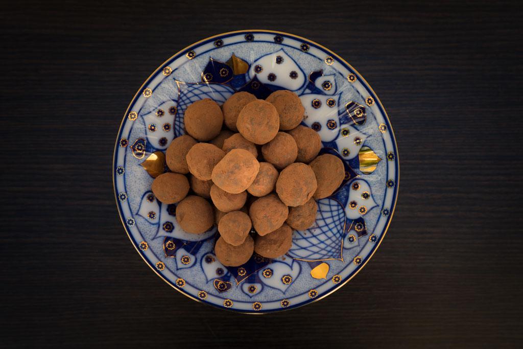 zelf chocolade truffels maken