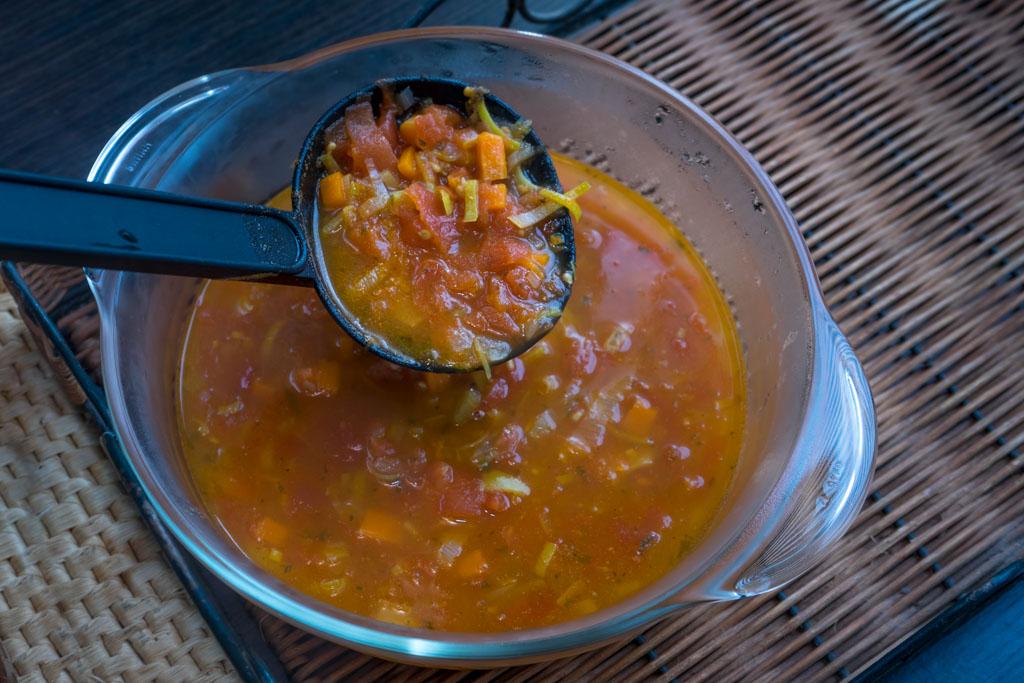 ingrediënten tomatensoep