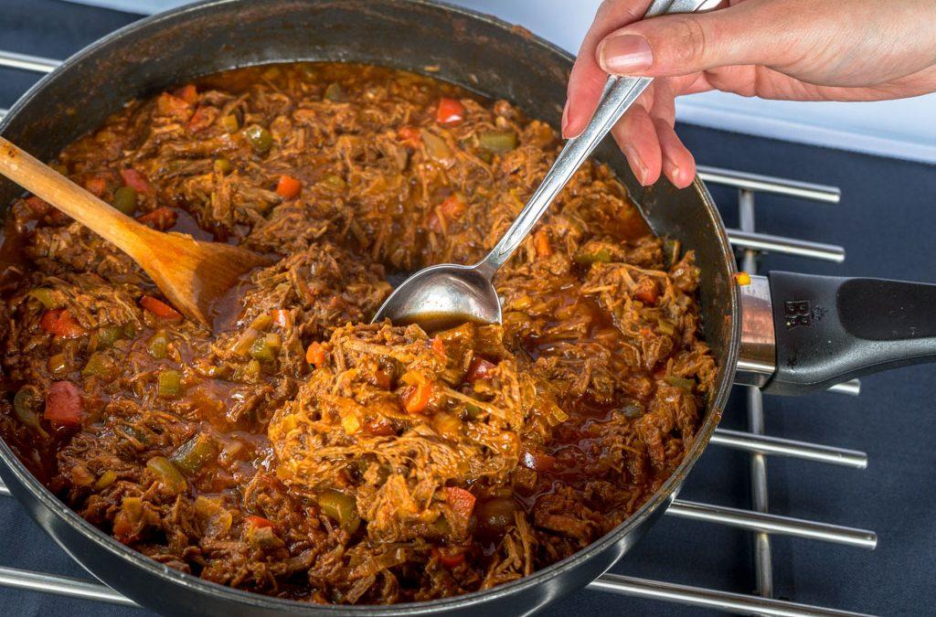 Het recept voor Goulash en sudderlapjes